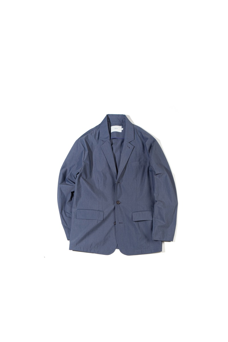HIGH DENSITY TYPEWRITER SLUMBER JACKET (indigo navy)
