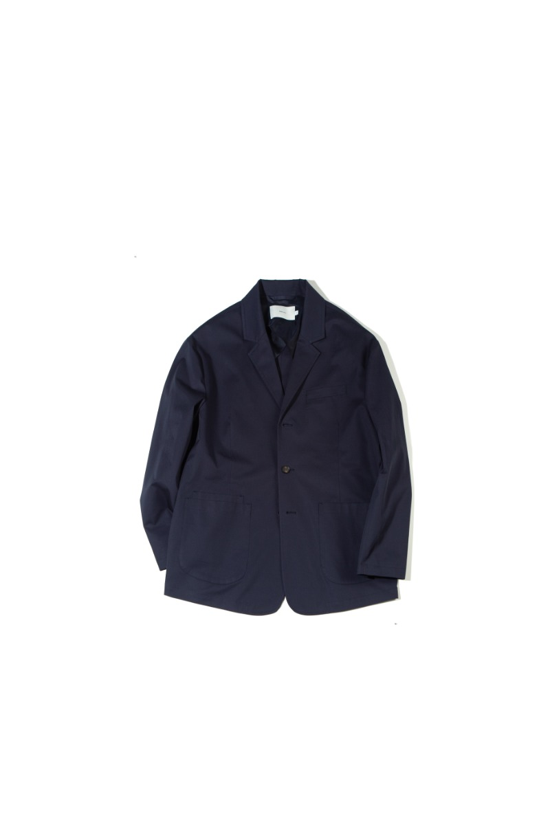 SUPIMA COTTON SPORTS JACKET (dark navy)