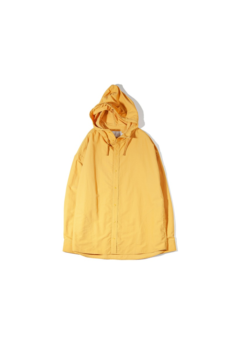 NYLON DYED COMFORT SHACKET (yellow)